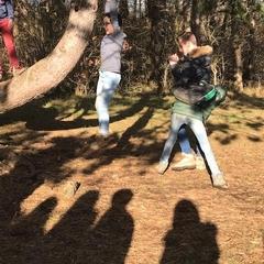 Classes de forêt - janvier 2018 - groupe 1 (jour 4)