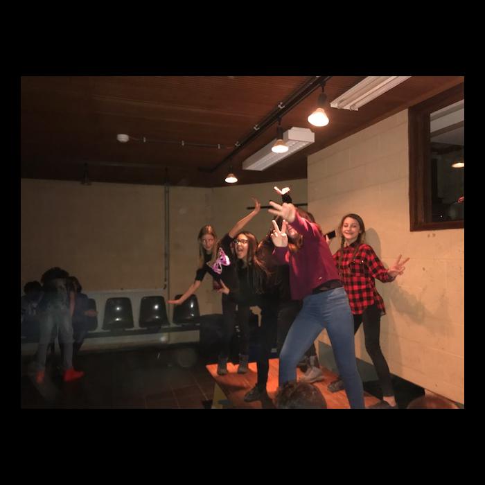 Classes de forêt - janvier 2018 - groupe 1 (soirée boum)