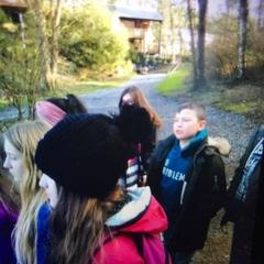 Classes de forêt - janvier 2018 - groupe 1 (jour 2)